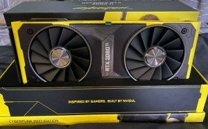 NVIDIA GeForce RTX 2080 Ti Cyberpunk 2077 Edition продают за $5000