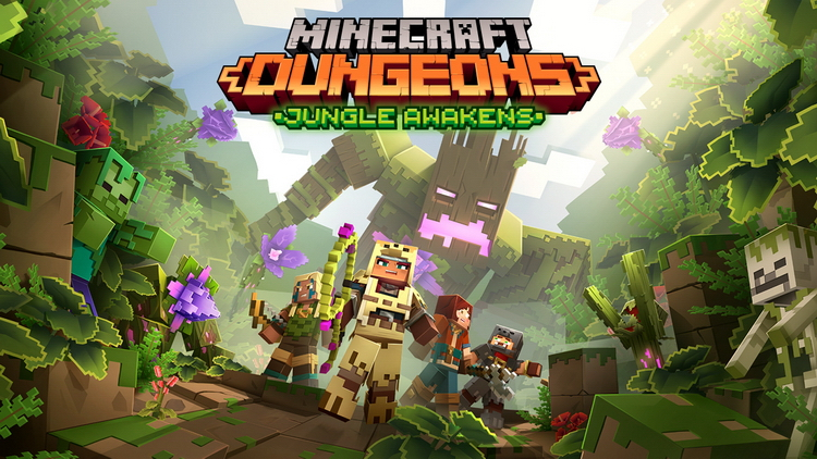Mojang Studios представила первое дополнение к Minecraft Dungeons  Jungle Awakens