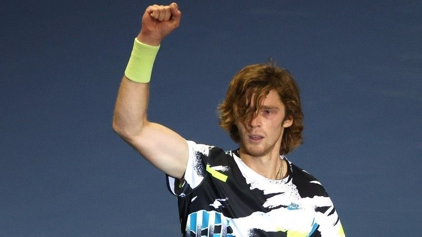 Андрей Рублев стал победителем теннисного турнира St.Petersburg Open