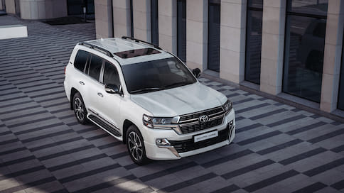 Toyota обновила Land Cruiser 200 Executive Lounge