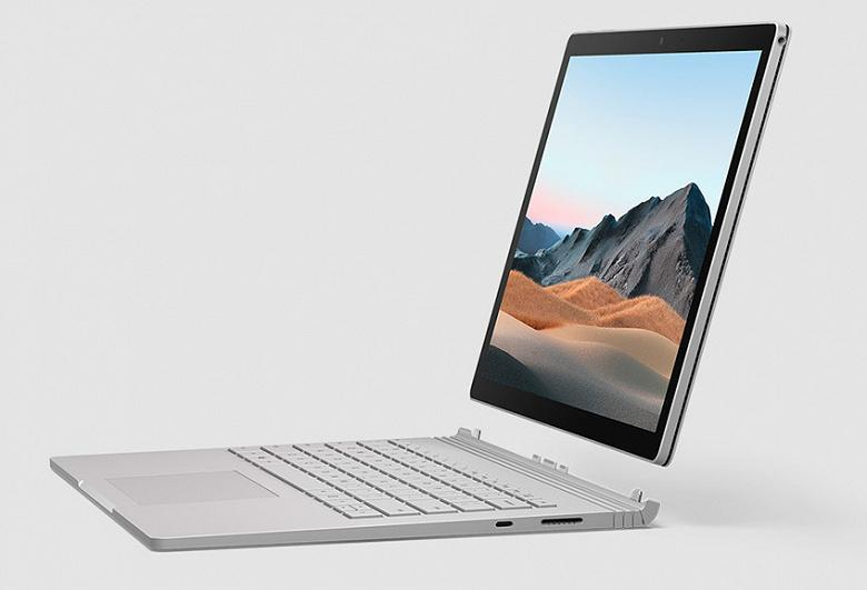Компания Microsoft представила ноутбук Surface Book 3